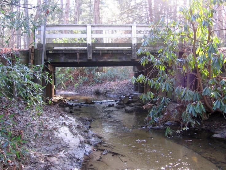 Boyd Drive bridge_fromCreek_05